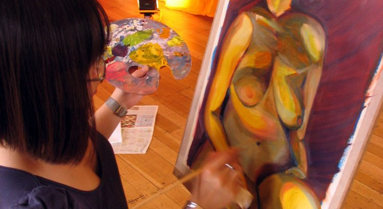 Life Painting Saturday Workshop