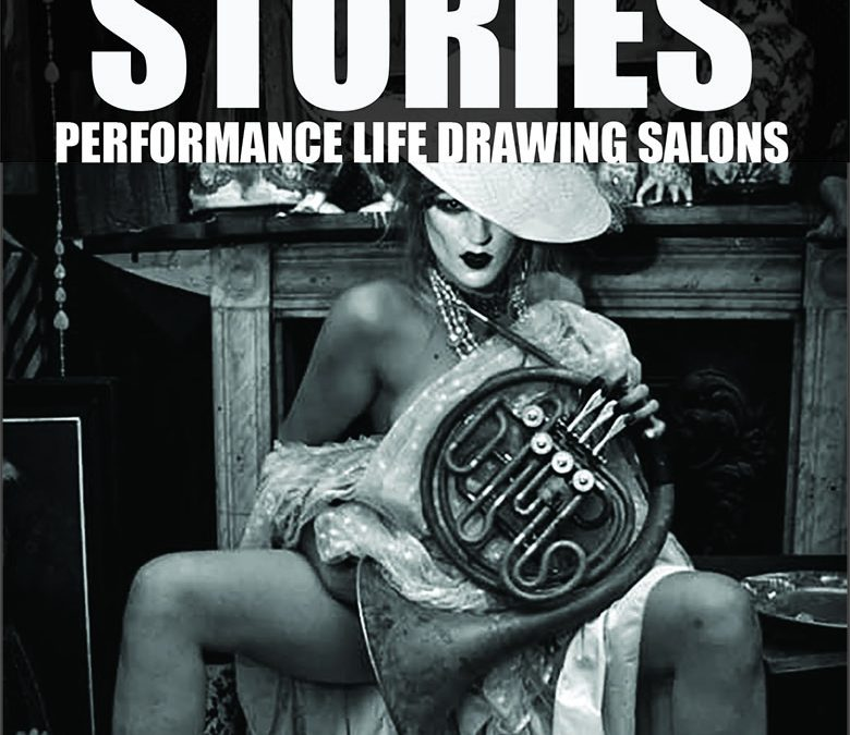 Secret Sketch Stories – Devised Performance Life Drawing Salons