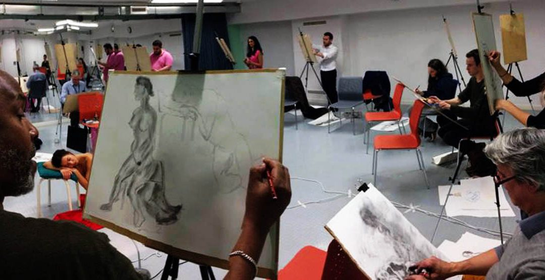 Friday Lunchtime Drop In Life Drawing At Artizan St Library