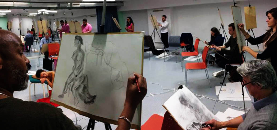 Monday Drop In Life Drawing at Artizan St Library