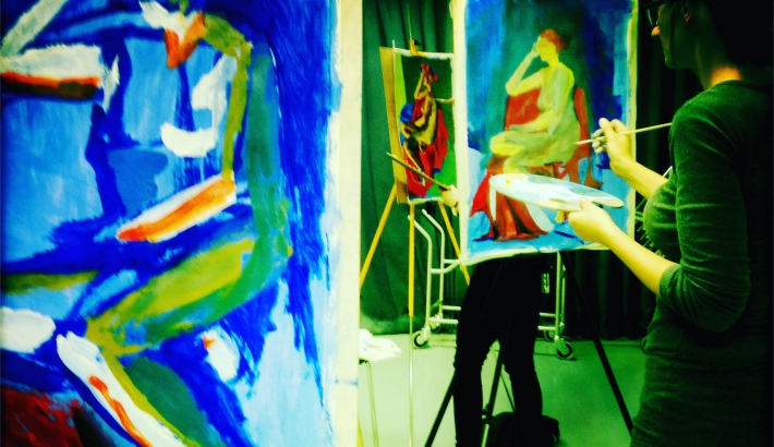 Make a Painting in a Day: Life Painting Workshop