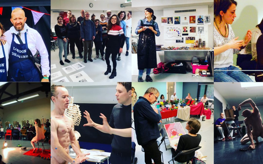 London Drawing Crowd Funding Page- Help Support Models & Tutors During Class Closures