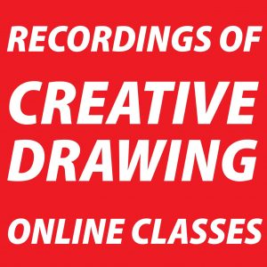 Recordings of Creative Drawing Classes