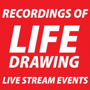 Recordings of Online Life Drawing