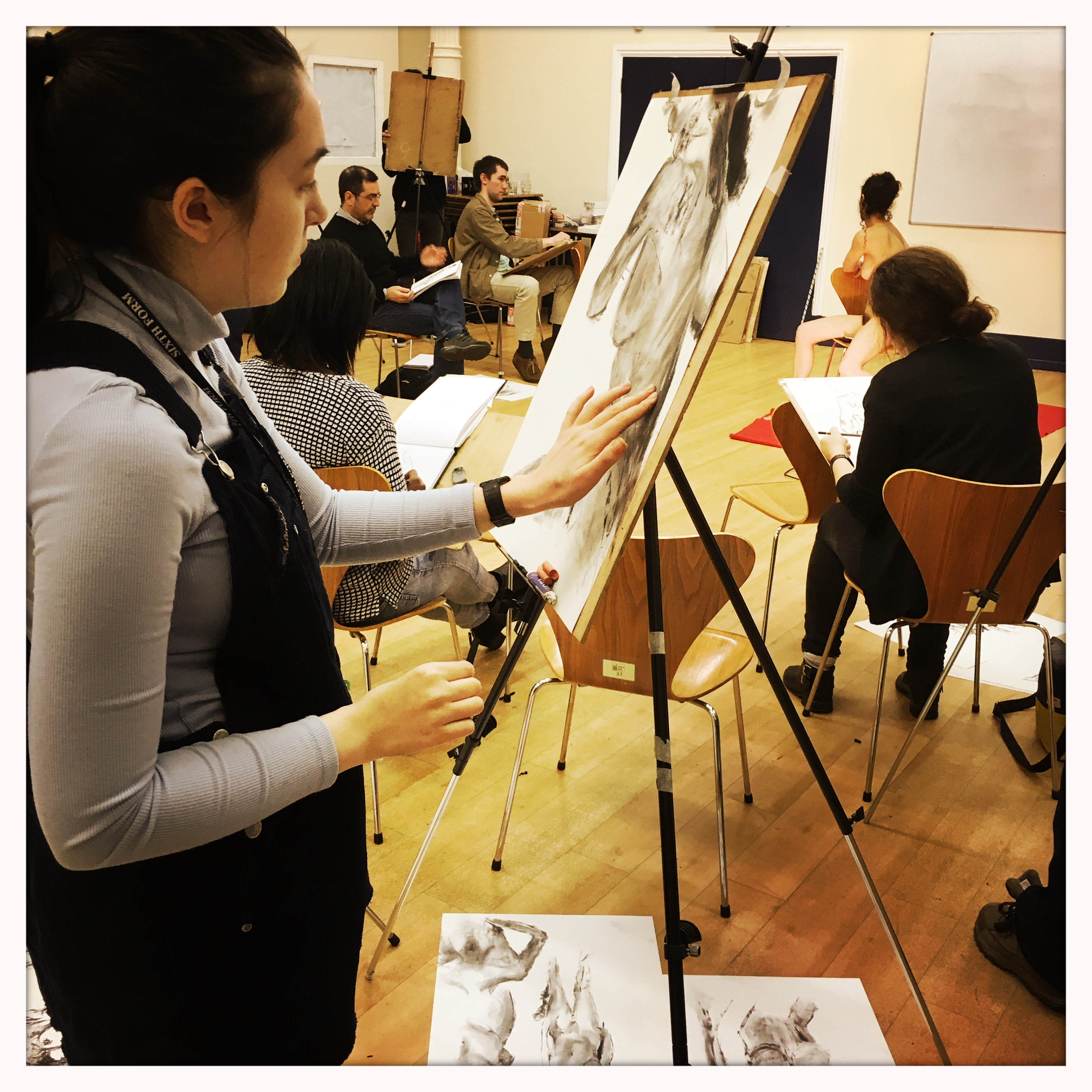 Wednesday evening drop In Life Drawing at Waterloo Action Centre Waterloo