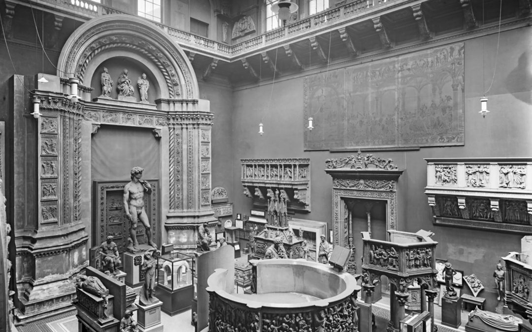 Museum Sketch – Body & Space at the V&A Cast Court
