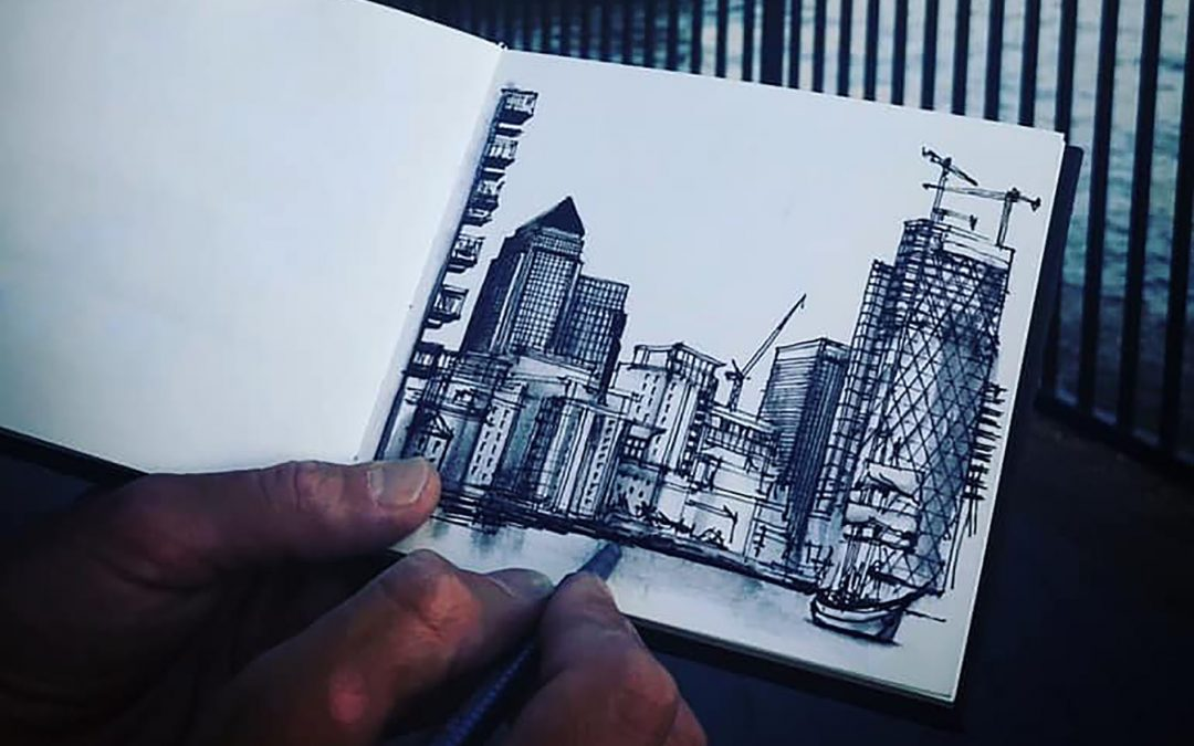 Drawing Architecture with Ed Bucknall