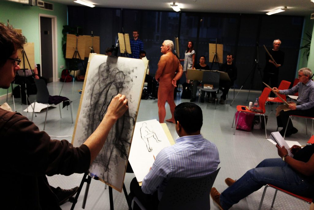 Friday Lunchtime Drop In Life Drawing At Artizan St Library, Liverpool St