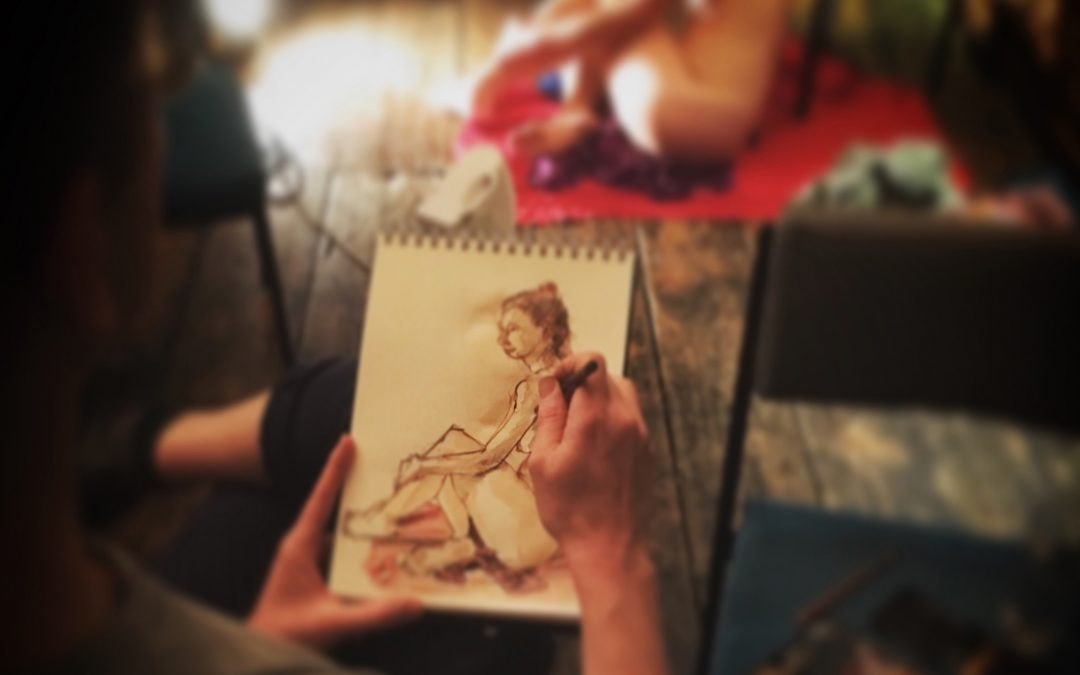 Wednesday Studio – In Person Life Drawing Classes