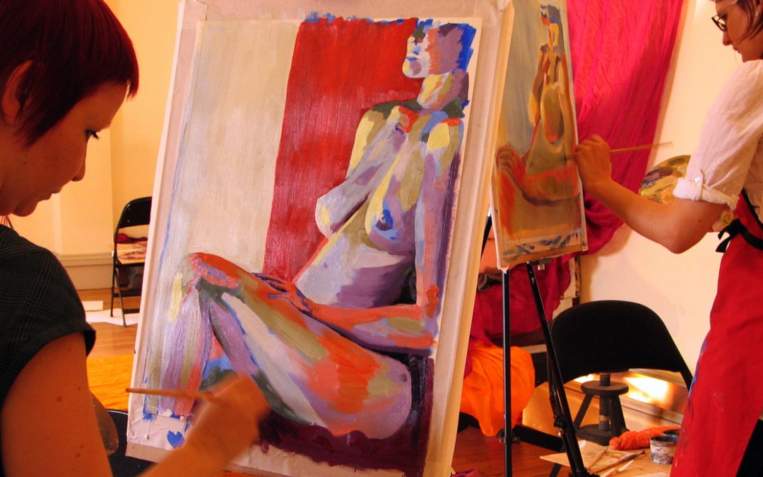 Life Drawing & Painting 3 Day Courses